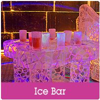 Ice Bar in Barcelona - A great hen weekend, hen party or hen do activity! For more information on this package visit www.henweekend.co.uk or call 01773 766052. Why not like us on Facebook for some great hen weekend ideas https://www.facebook.com/europeanweekends?ref=hl