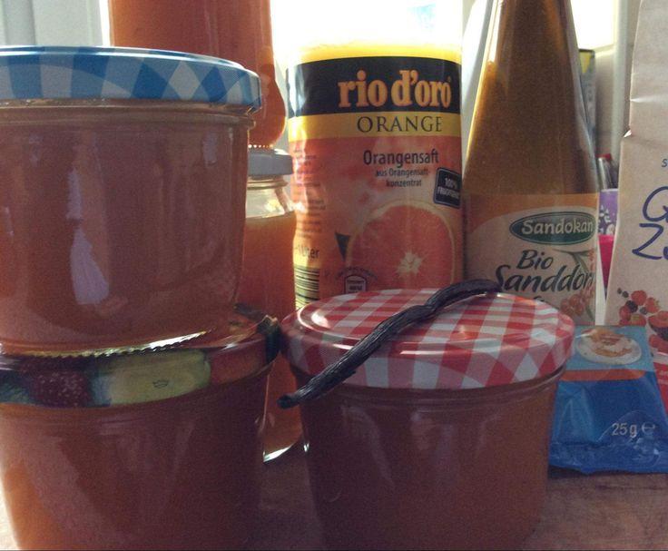 Good Rezept Sanddorn Orangensaftgelee von Rezept der Kategorie Saucen Dips Brotaufstriche