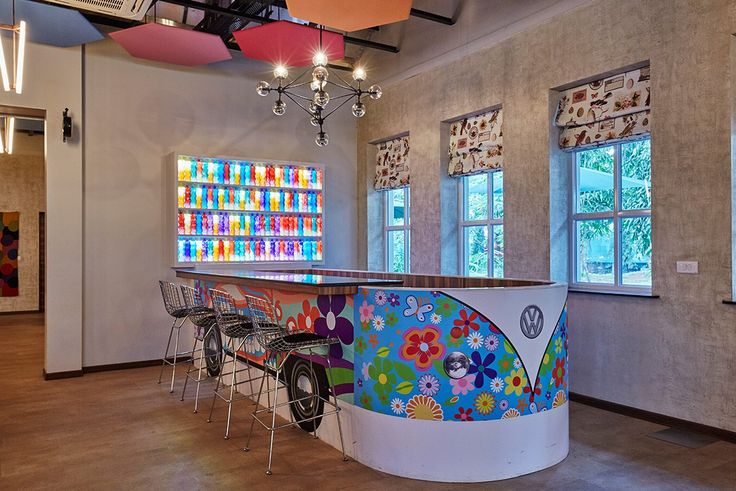 An exciting interior designs of  the Beatles Cafe done by Bric Design