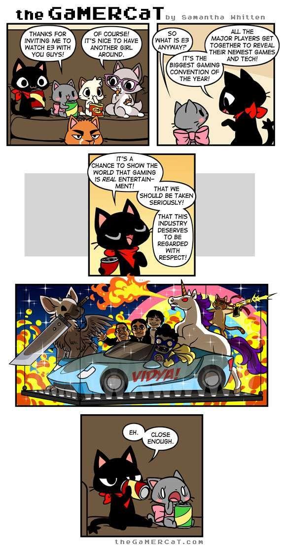 the GaMERCaT :: Industry Standard | Tapastic Comics - image 1