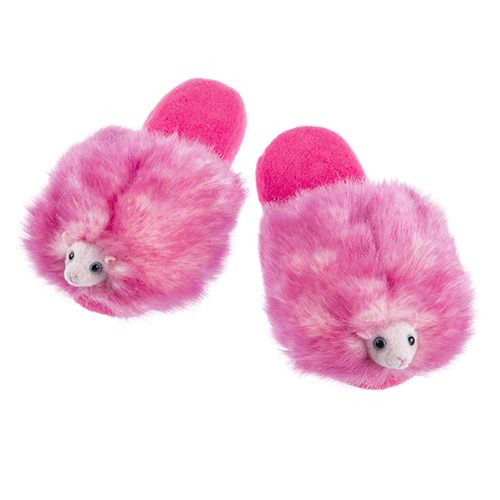 Pygmy Puff Adult Slippers (size M)