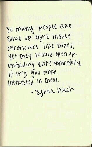 quote, sylvia plath, and box image