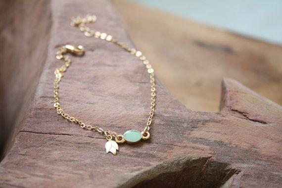 Australian christmas gift gold anklet bracelet by SharonTasker