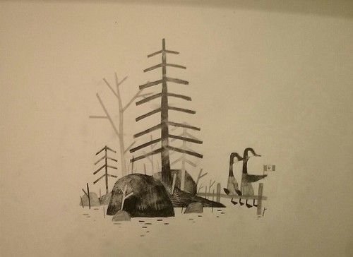 Happy Thanksgiving Canada! Miss you like crazy.-  Jon Klassen