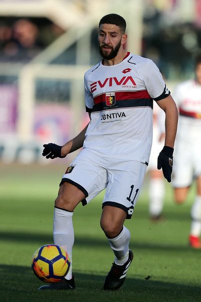Adel Taarabt of Genoa CFC in action during the Serie A match betweenACF Fiorentina and Genoa CFC at Stadio Artemio Franchi on December 17, 2017 in Florence, Italy.