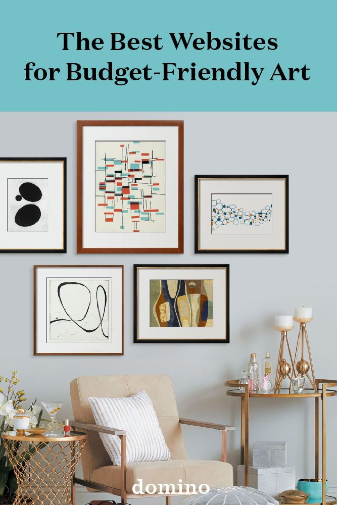 The Best Websites For Art Lovers On A Budget Living Room Decor