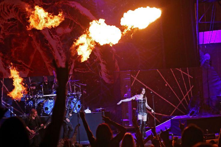 #Nightwish #live #slovakia #floorjansen