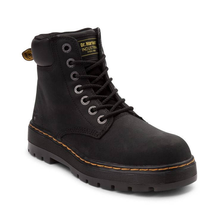 Mens Dr. Martens Winch OSHA Steel Toe Boot