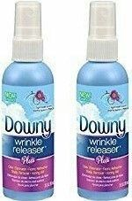 Downy wrinkle releaser for your formal outfit on cruise elegant evening and other cruise outfits. No iron, no problem! DIY! ;) Get rid of wrinkles with a spray for wrinkle-free clothes or darn close! So make sure to put it on your cruise packing list! What to wear on a cruise formal night, what to pack for cruise. Cruise tips for your beach vacation or Caribbean vacation, cruise hacks... #cruisetips #cruise
