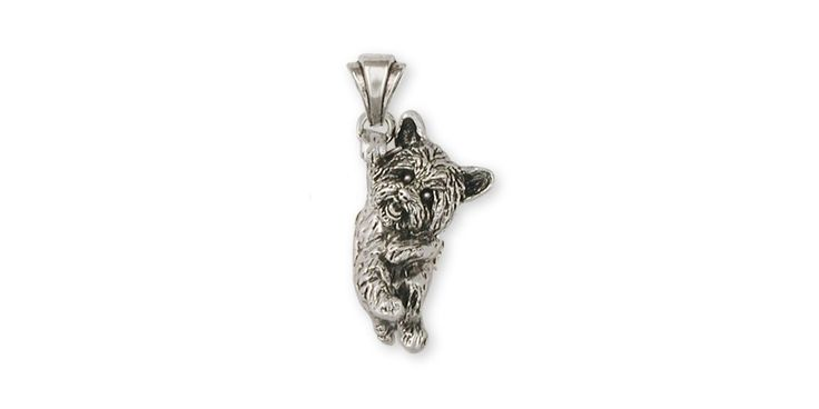 Yorkie Yorkshire Terrier Pendant Jewelry Sterling Silver Yorkie Yorkshire Terrier Dog Pendant YK23-P. This is hand made when ordered. 30 Day Money Back Guarantee.