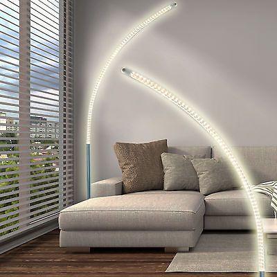 Good Details zu LED Steh Lampe cm Stand Boden Leuchte Wohnzimmer Licht DESIGN Decken Fluter