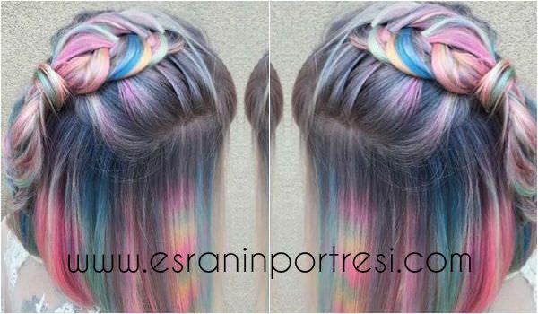 2016 pastel saç renkleri trendi ve birbirinden farklı saç modelleri www.esraninportresi.com