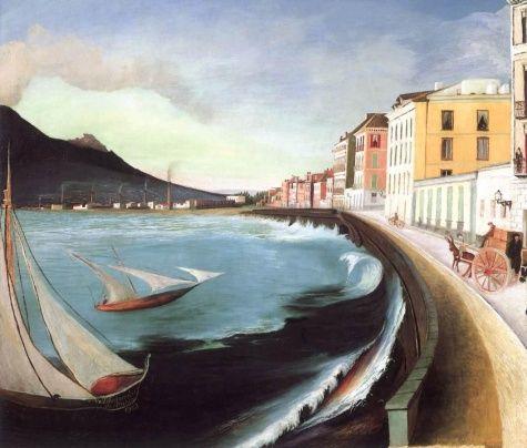 Castellamare di Stabia - Tivadar Kosztka Csontvary -Post-Impressionism, 1902