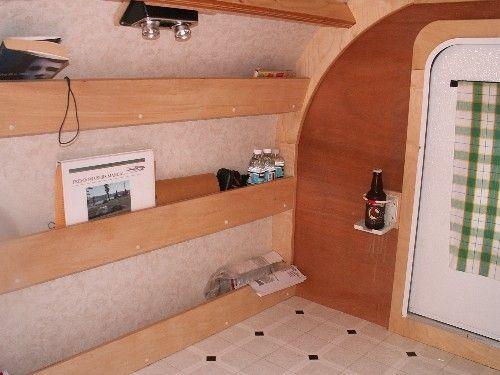I like the shelves..easy way to stay organized