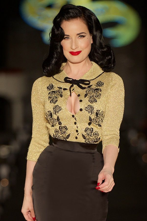 Image result for dita von teese style