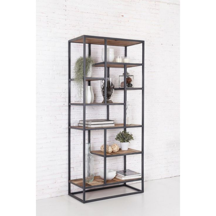 25 best ideas about etagere bois et metal on pinterest. Black Bedroom Furniture Sets. Home Design Ideas