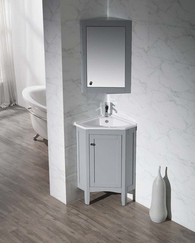 Argo 25 Single Bathroom Vanity Set Corner Bathroom Vanity Bathroom Vanity Corner Vanity