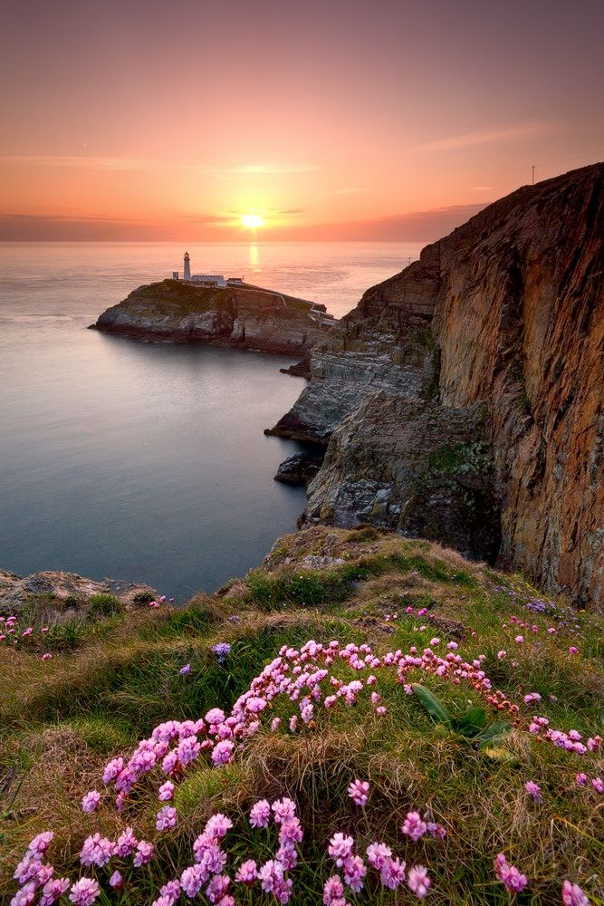 Last Light - South Stacks Lighthouse, Holy Island - North Wales