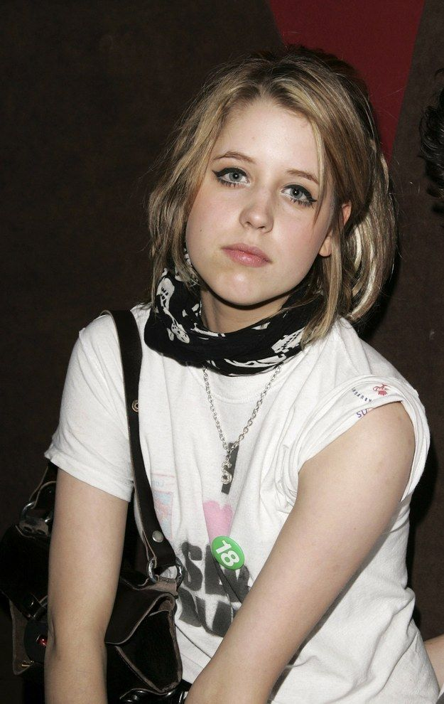 By the age of 15, Peaches had a column in a national newspaper. | Peaches Geldof's Life In Pictures