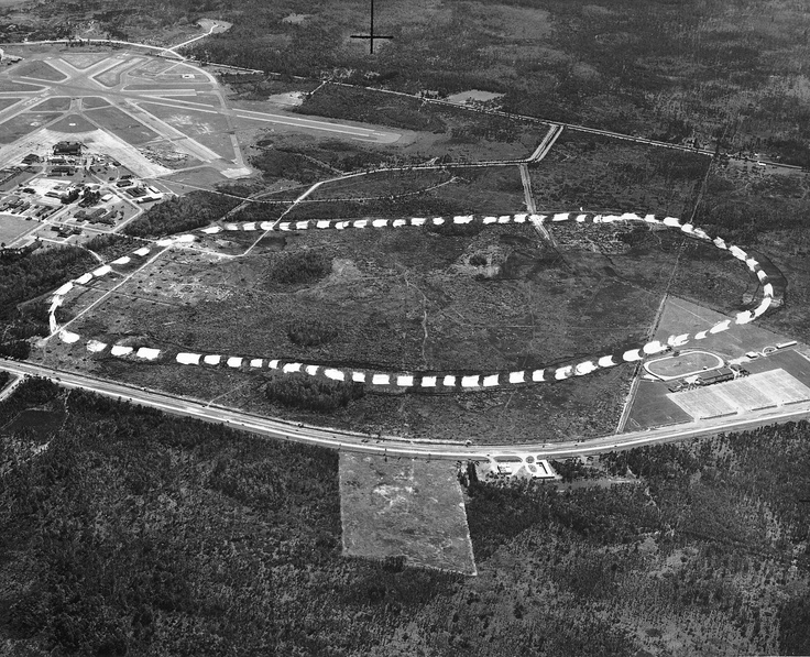 On November 25, 1957 ground clearing began for Daytona International Speedway.