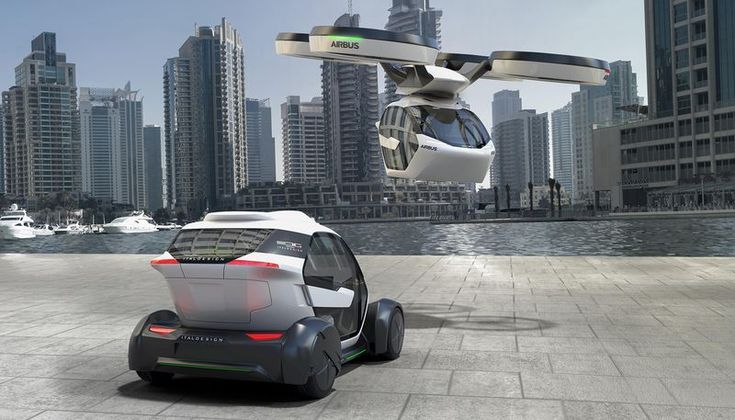 Airbus' new concept is a car, a drone, and a train all in one - The Verge