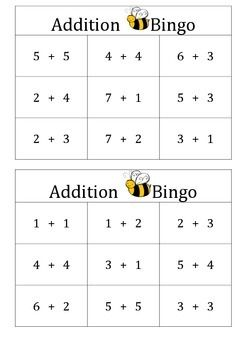 A fun game that helps students use mental thinking strategies to determine the addition answers. Can be used for any grade and assist students that find mental addition difficult. Best for a small group activity.