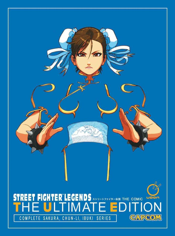 It's the entire Street Fighter Legends series in a gorgeous, oversized format to catch every detail! Collecting the complete Sakura, Chun-li, and Ibuki comic series, this ultimate collection shows why