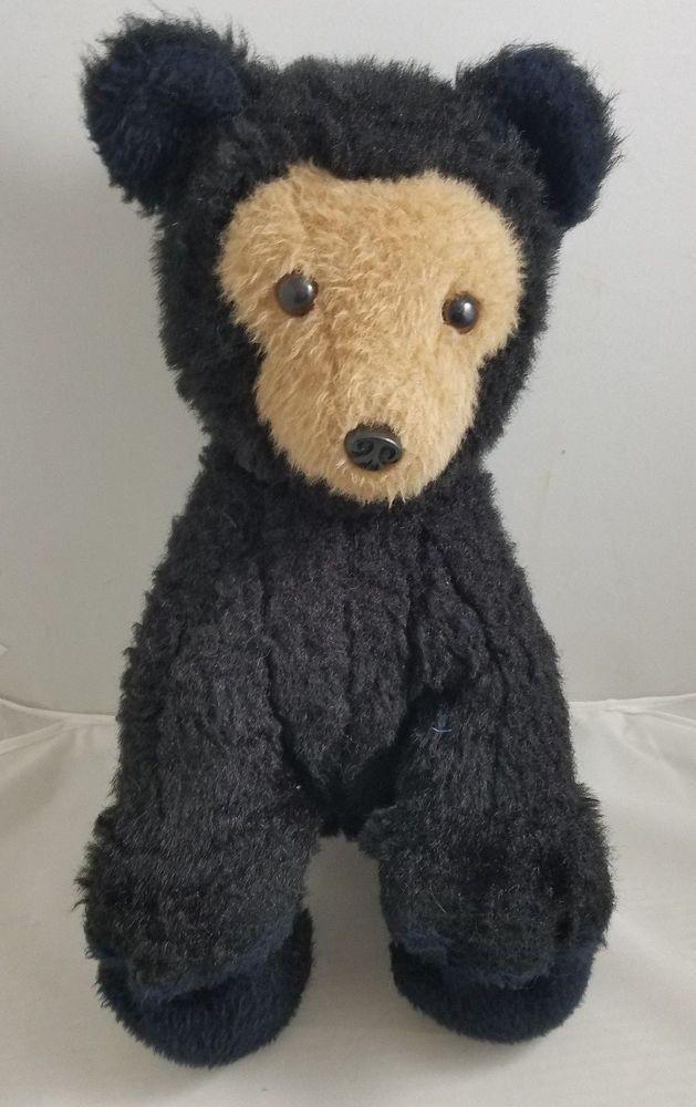 Vintage 1976 Dakin Pillow Pets 16 Bearfoot Teddy Bear Stuffed