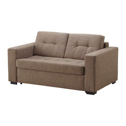 КЛАГСТОРП Диван-кровать 2-местный - Бальг светло-коричневый - IKEA
