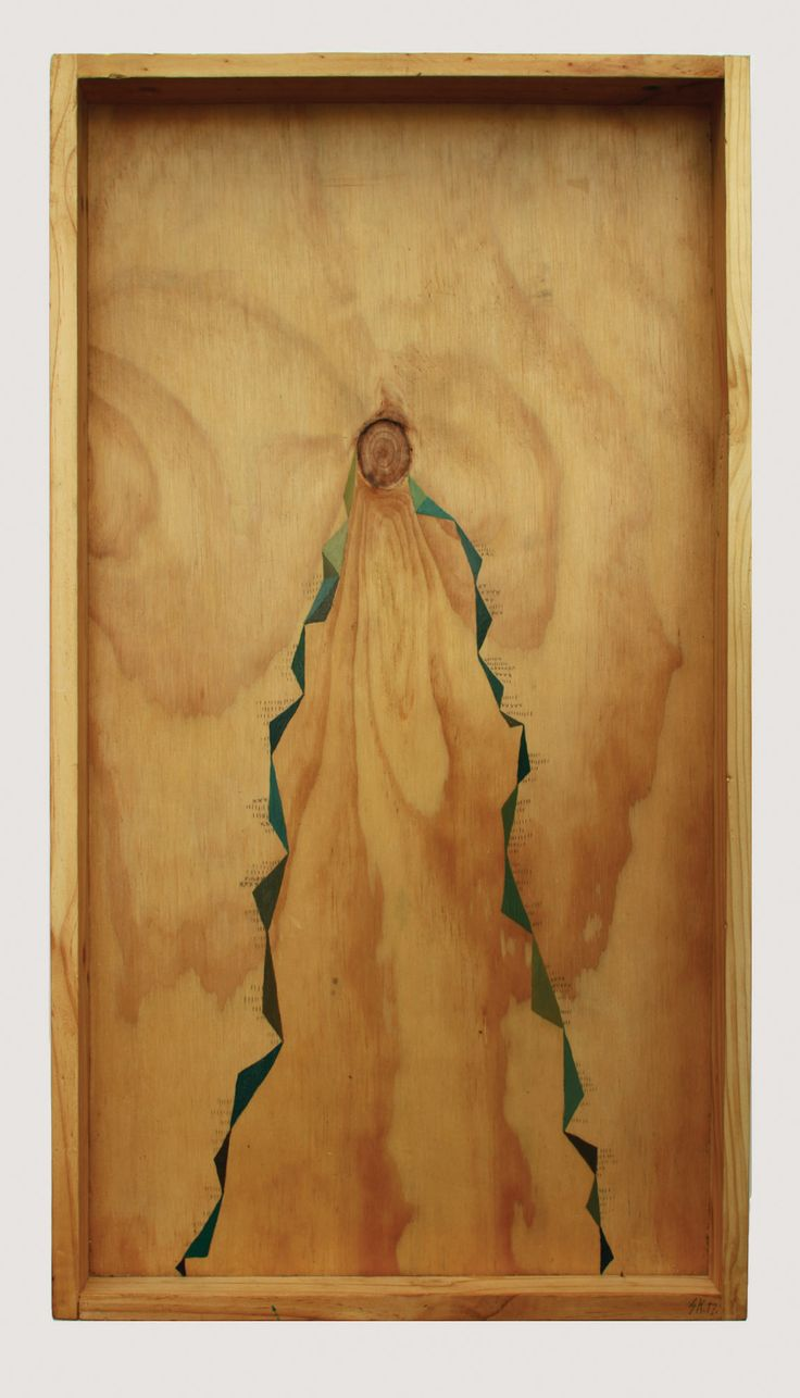 ► Shelley Krycer painting ► 'Tremble (1)' ► acrylic on timber