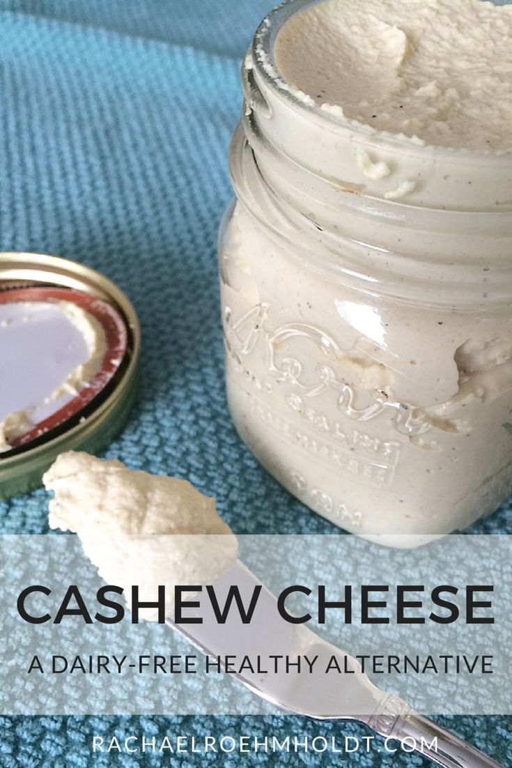 Dairy-free Cashew Cheese | http://RachaelRoehmholdt.com