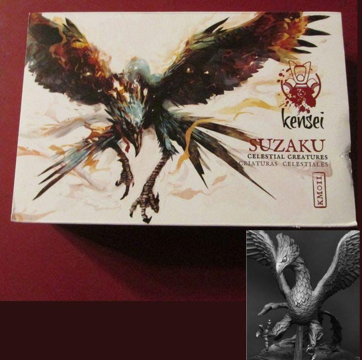 Zenit KM011 Kensei Celestial Creatures Suzaku 1 Miniature Vermilion Bird Fire | eBay