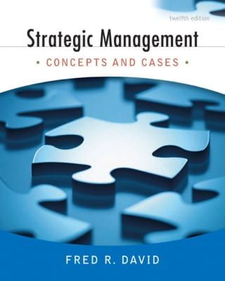 Strategic Management Fred David Pdf
