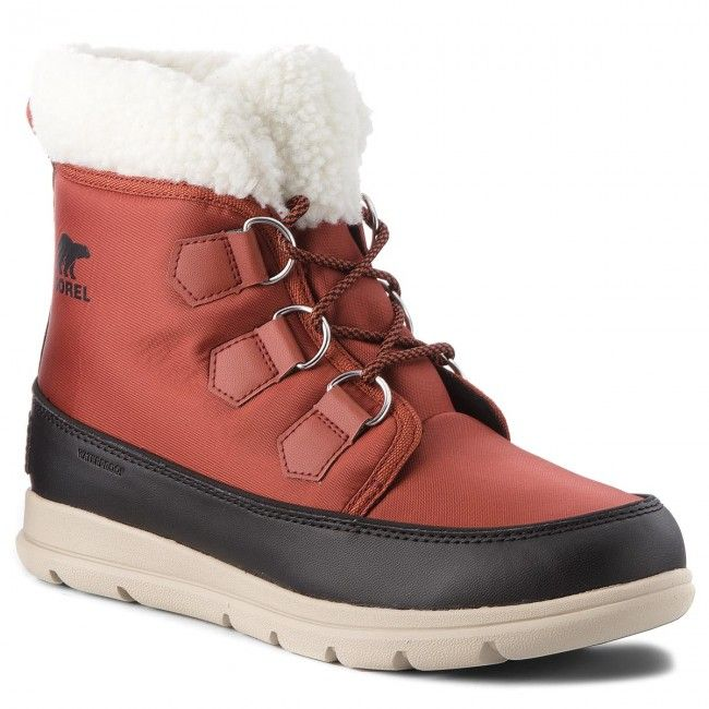 Sniegowce Sorel Explorer Carnival Nl3040 Rusty Black 808 Boots Snow Boots Snow Boots Women