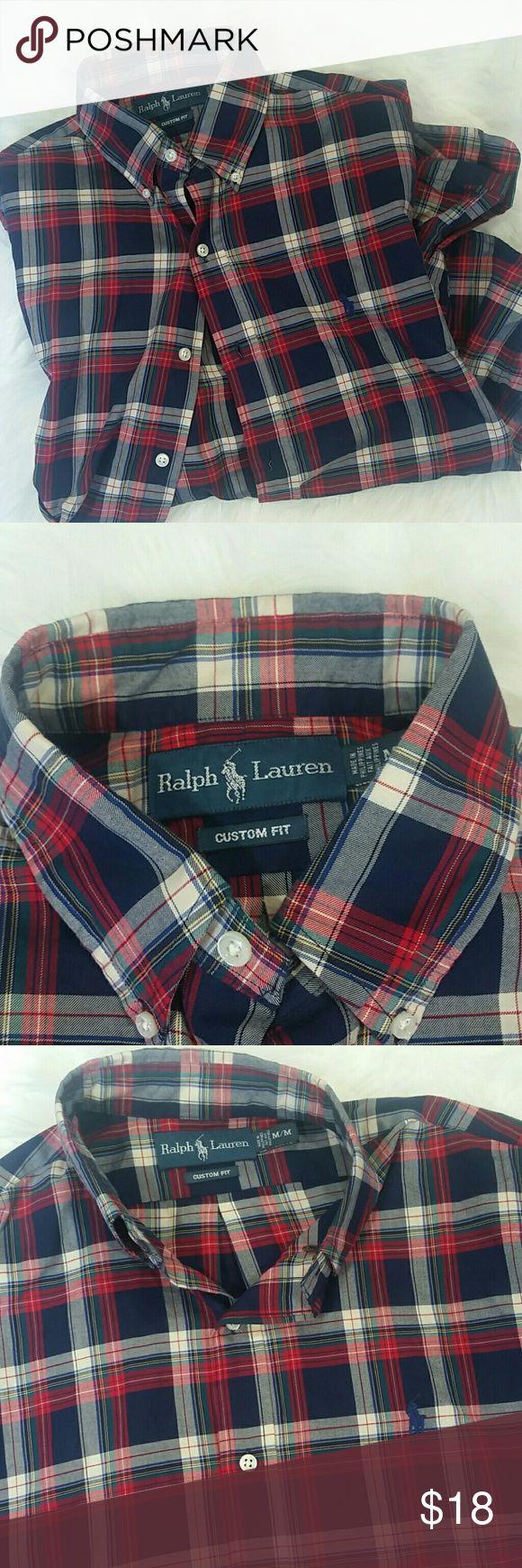 "Polo Ralph Lauren Custom Fit Long Sleeve Never worn. Length - 25"" Polo by Ralph Lauren Shirts"