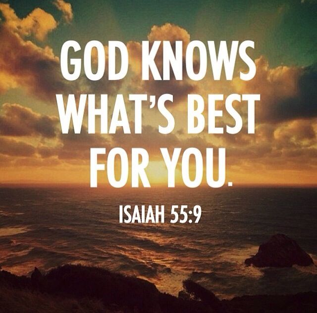 Even though it is hard, still I will trust in His plan :)