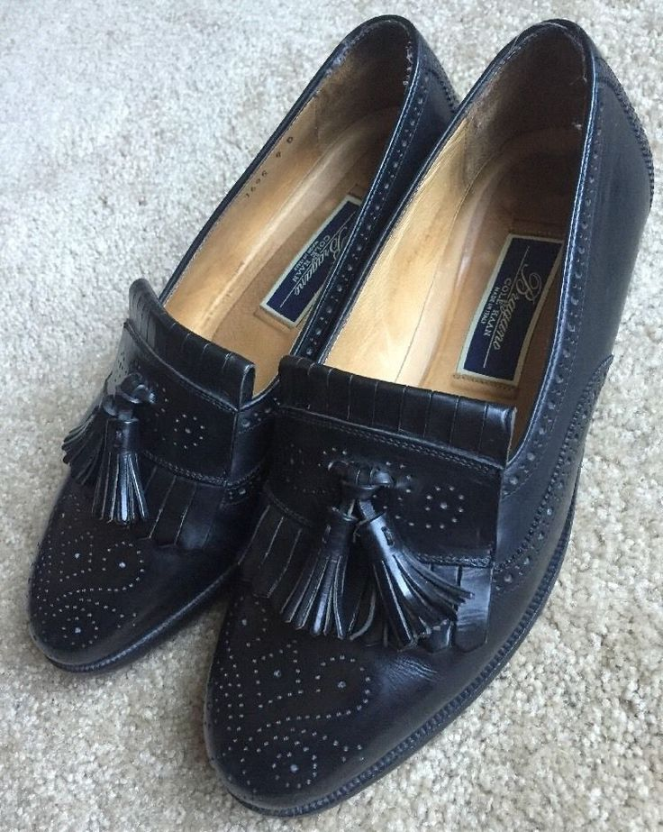 Cole Haan Bragano Men's Shoes Brown Woven Leather Penny Loafer Size 9M Italy