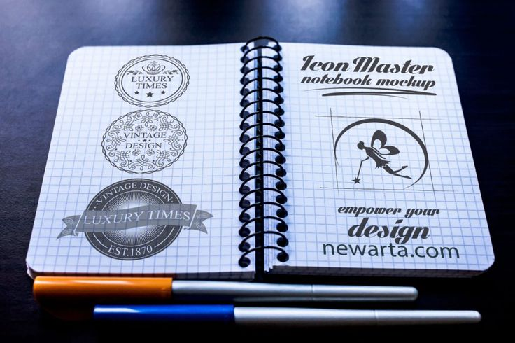 icon master notebook mockup 2