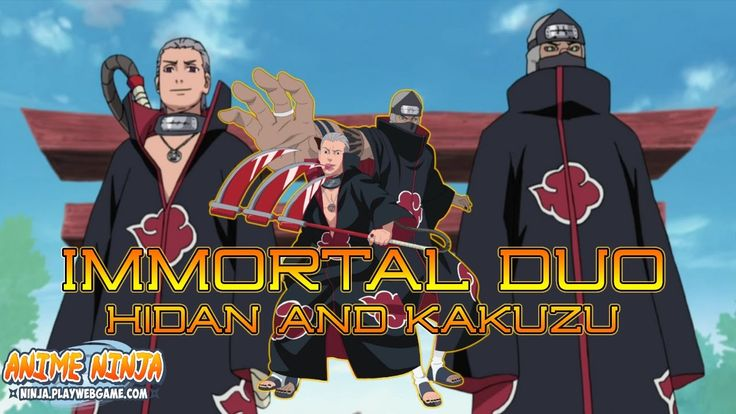 Anime Ninja - Immortal Duo Hidan and Kakuzu - Naruto Games - Browser Onl...