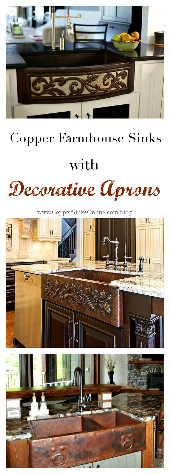 Beautiful apron front design ideas for copper kitchen farmhouse sinks