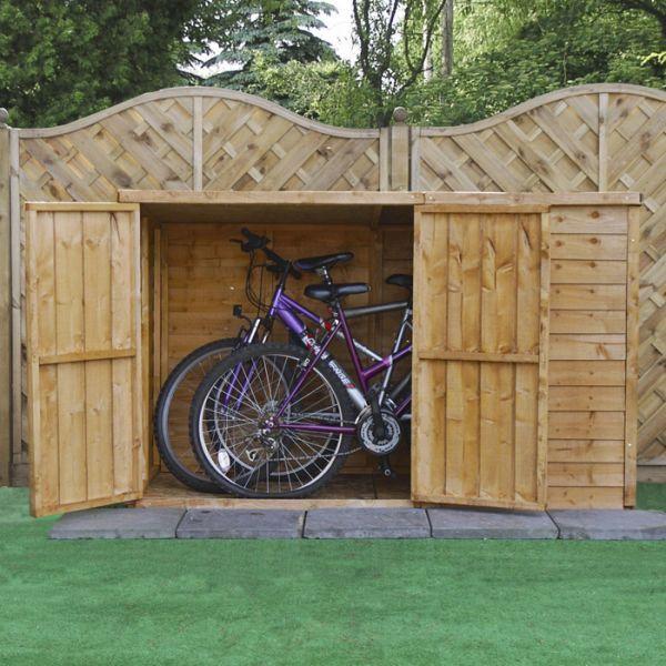 17 best ideas about bike shed on pinterest bike storage. Black Bedroom Furniture Sets. Home Design Ideas