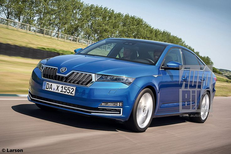 Here's a rendering of the 2019 Skoda Octavia with some details on changes arriving with the redesign for the car's fourth generation.
