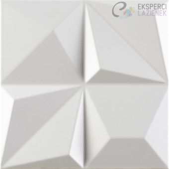 Płytka ścienna 25x25cm Shapes Multishapes White Dune 187346