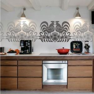 wooden cupboards - lovely!
