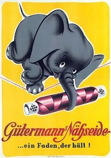 Vintage Sewing Advertising Poster #vintage #advertisements #sewing #sewcratic