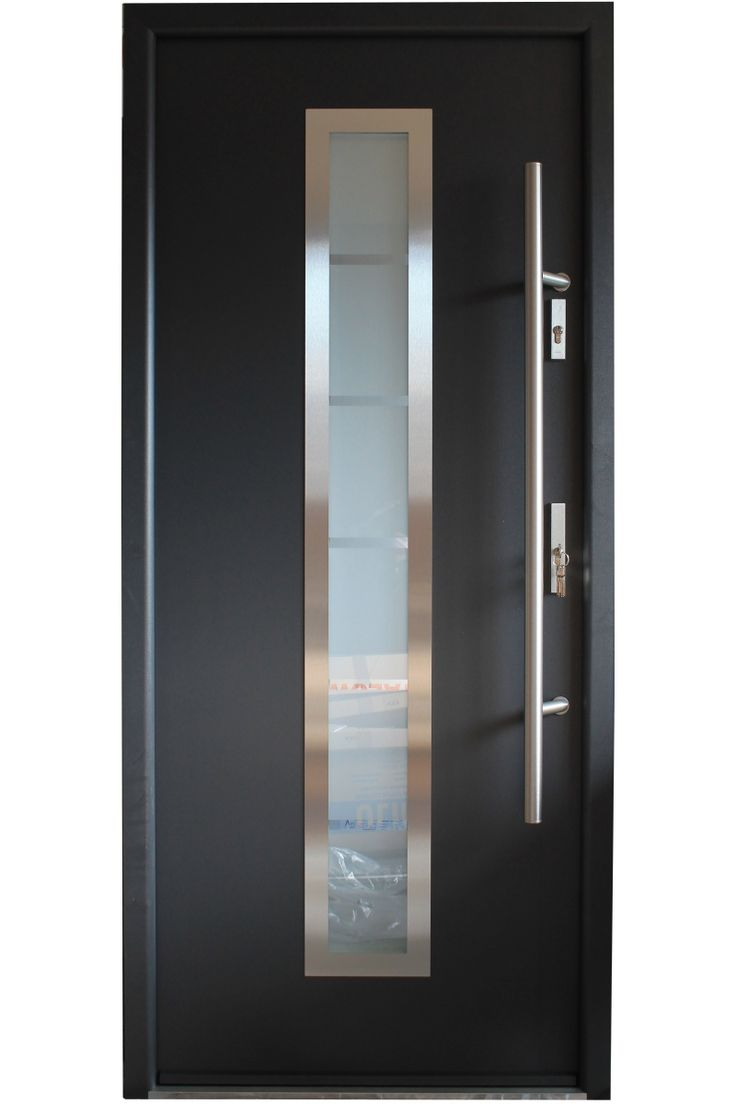 Best 25 modern exterior doors ideas on pinterest modern Modern glass exterior doors