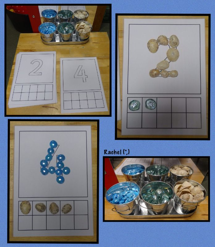 "Counting and fine motor skills (free printable available) from Rachel ("",)"