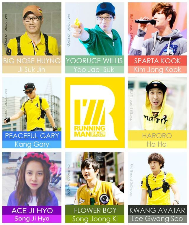 Running Man. AKA, why I laugh alone like a crazy person