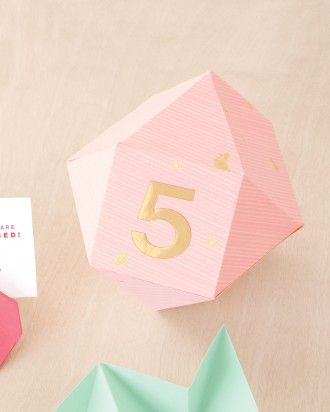 "See the ""Origami Table Numbers"" in our DIY Table Numbers to Count on for a Special Touch gallery"