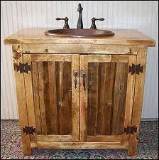 rustic bathroom cabinet - Google Search